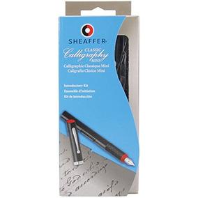 Sheaffer Caligrafía Mini Kit, Fino, Medio, Amplia, 8 Piezas
