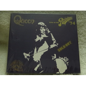 Cd - Queen - Live At The Rainbow 74 - Duplo - Raro