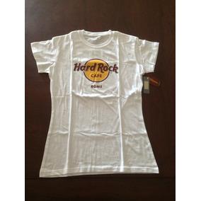 Camisetas Hard Rock Clásicas Para Mujer. Diferentes Ciudades