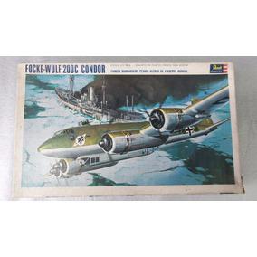 Avião Focke-wulf 200c Condor 1:72 Revell Brasil Antigo Raro.