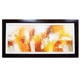 Pintura Abstractro Al Oleo 50cm X 1. 20 M