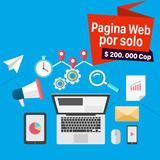 Página Web Profesional, Hosting + Dominio + Correos 1 Año