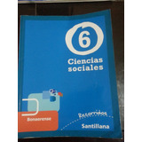 Ciencias Sociales 6 Recorridos Santillana Bonaerense
