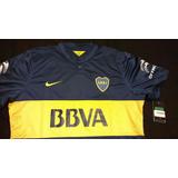 Camiseta Boca 2014 2015 Titular Match De Juego - Talle Xl