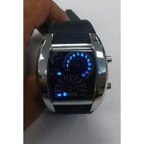 Reloj Pulsera Velocimetro, Negro