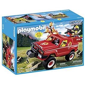 Playmobil Fuego Terreno De Camiones