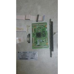 Placa Controladora Tv Lg 60pm6700 +cabos Flet + Frete Gratis