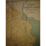 Mapa Aca Camino De Acceso Ciudad Bs As Y La Plata 1944