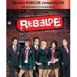 Dvd - Rebelde Versao Mexicana As Tres Temporadas + Brinde