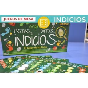 Juego De Mesa Original Pistas Datos Indicios Adultos Familia