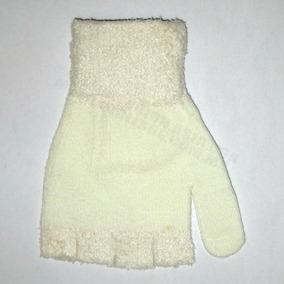 Guantes Sin Dedos Tejidos Moda Frío Invierno Mujer Y Hombre