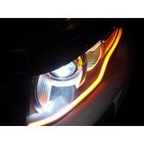Tira Drl Led 60cm Luz De Día Faros Tipo Audi - Envío Gratis!