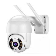 Câmera De Segurança Ip Wifi Externa Prova Da Água Rotativa