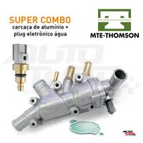 Kit Válvula Termostática Carcaça Alumínio Ecosport Fiesta Ká