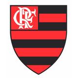 8e57f5eae8 Adesivo Flamengo Futebol Clube Com Fundo 48cm X 58