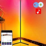 Luz Lampara Pie Esquinero Pixel Led Rgb Regalo Deco App Wifi