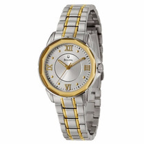 Bulova 98l166 Japanese Quartz Stainless Steel - Yellow Gold
