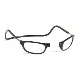 Armação Óculos Leitura Grau Clic Imã Varias Cores