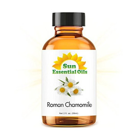 Manzanilla (romano) (2 Oz Fl) Aceite Esencial 100% Puro - Me