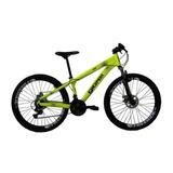 Bicicleta Aro 26 21v Gios Amarelo Neon - Gios Frx Freeride