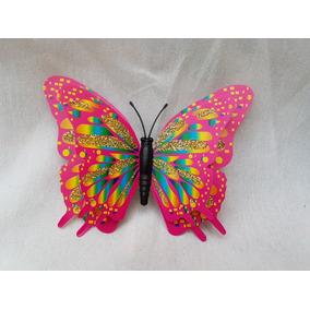 Mariposas 3d Con Imán Con Brillos Diseño Y Decoración