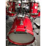 Bateria Yamaha Aboslute Hybrid Maple Roja ((solo Tambores))