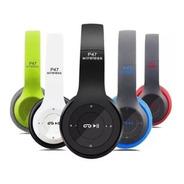 Fone De Ouvido Bluetooth P-47 Wireless Headphones Sem Fio