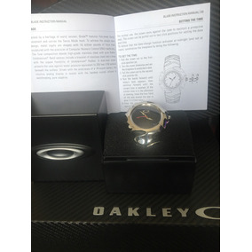 Reloj Oakley Blade Black Face Polished