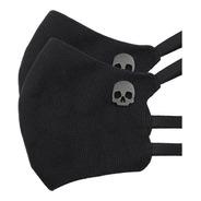 Cubrebocas Skull Marca Mecánico Jeans 2 Pack