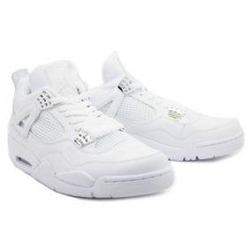 Air Jordan 4 blancas