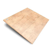 Porcelanato Simil Madera 60 X 60 Cm Brown 1,44 M² X Caja