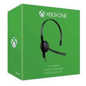 Diadema Chat Headset Para Xbox One Microsoft Original Sellad