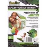 Papel Fotografico 4x6 Glossy Brillante 50 Hojas 10x15cm 4r