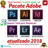 Pacote Adobe Photoshop Premiere Illustrator + 30.000 Presets