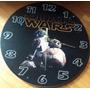 Reloj De Pared De Madera De Star Wars Guerra Galaxias