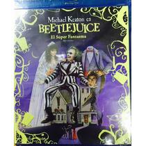 Beetlejuice El Super Fantasma En Bluray