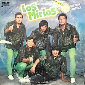 Los Mirlos / Con Sabor A Cumbia - Vinilo Lp.