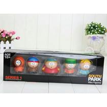 Conjunto 05 Bonecos South Park Pronta Entrega Novo Na Caixa