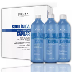 Ybera Botulínica Capilar Bo-tox Kit 3x1l.
