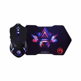 Kit Mouse Gamer Usb M309 + Mouse Pad G7 Gamer Marvo