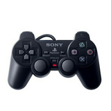 Control Para Play Station 2 Ps2 Dual Shock 2 Negro 100% Nuev