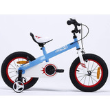 Bicicleta Royal Baby Honey Aro 16 Azul