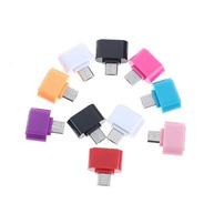 Lote 10pz Mini Adaptador Otg V8 Micro Usb A Usb Colores