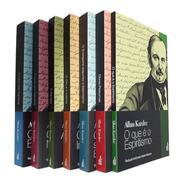 Coleção Allan Kardec 07 Livros Feb | Tamanha 23cm X 15cm
