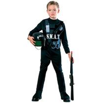 Disfraz De Swat Jóvenes Héroes Infantiles, Grande