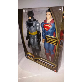 Kit Bonecos Batman E Superman Mattel