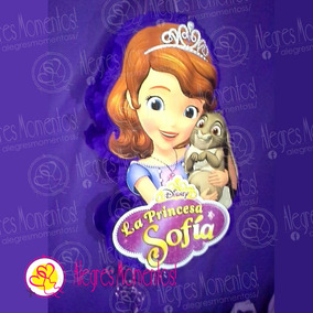 Piñata Y Bolsitas Golosineras Princesa Sofia Y P. James X 20
