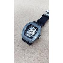 Reloj Richard Mille 005rm Skull Calavera Titanio Automatico