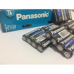Pilha Panasonic Pequena Aa/ Tubo Com 60 Unidades