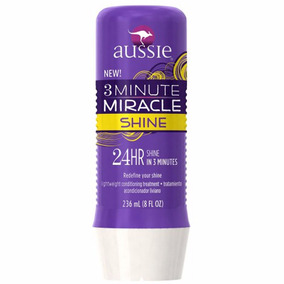 Máscara De Tratamento Aussie 3 Minute Miracle Shine 236ml